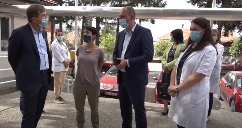 Šef sektora za upravljanje projektima Delegacije EU Martin Klauke u poseti Žagubici